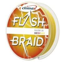 Шнур Climax Flash Braid 100м 0.10мм желтый