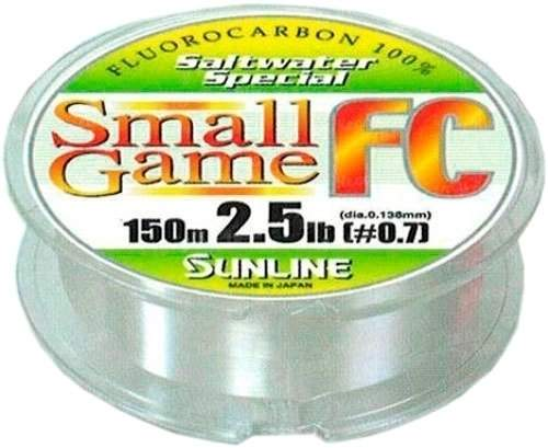 Fluorocarbon Sunline SWS Small Game 0.165 4lb 150m тонущ