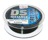 Леска фидерная Carp Zoom Distance fishing Line Green 0.24мм 250м CZ2076