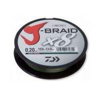 Шнур Daiwa J-Braid x8 150m 0.16mm Dark Green