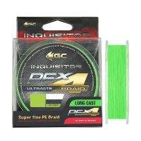 Шнур Golden Catch Inquisitor X4 Lime Green 150м #0.4