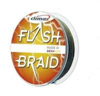 Шнур Climax Flash Braid 100м 0.10мм зеленый