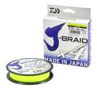 Шнур Daiwa J-Braid x4 135m 0.17mm Yellow