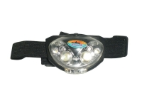 Фонарь налобный Fishing ROI 4 White Led & 2 Red Led 31606