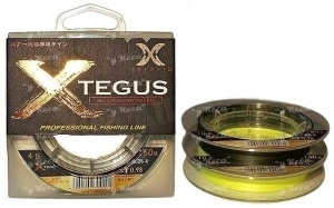 Шнур X-Tegus 1.5 25lb 150m Yellow