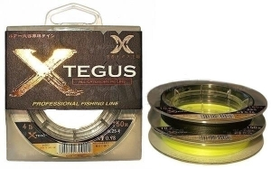 Шнур X-Tegus 0.6 10lb 150m yellow